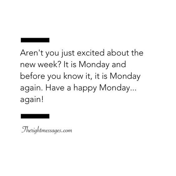 Monday Happy Quote