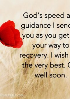 Get Well Soon The Right Messages
