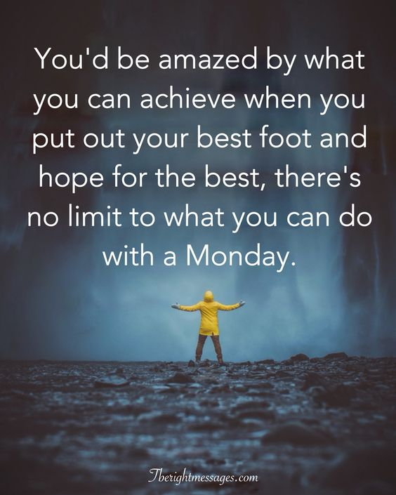 Monday Positive Quotes