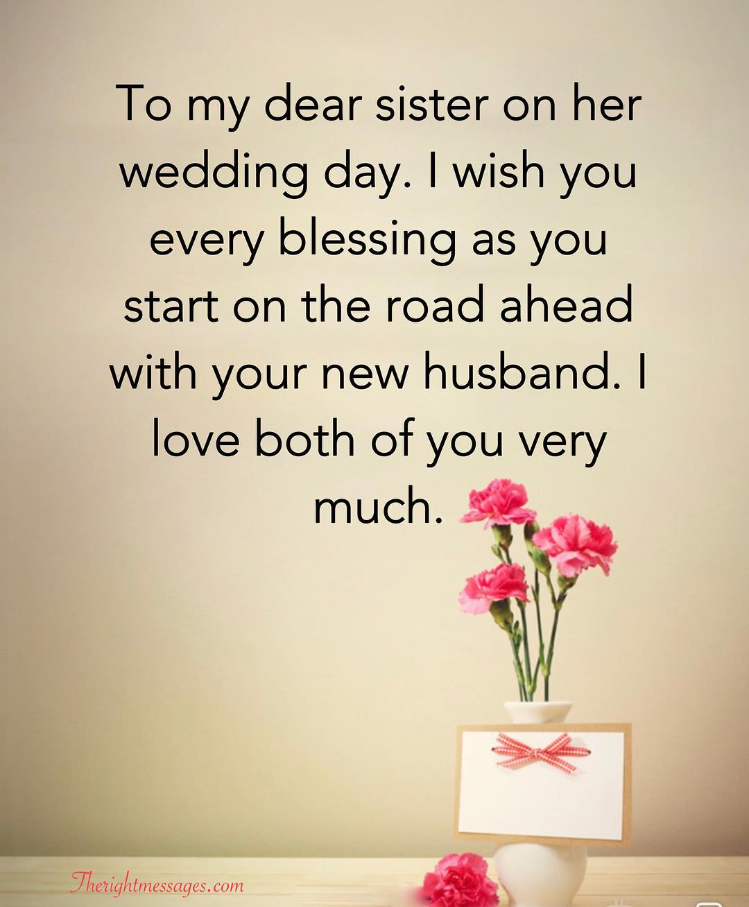 My Sister Marriage Quotes: Short And Long Wedding Wishes For Sister