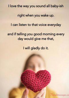 Good Morning Poems For Girlfriend