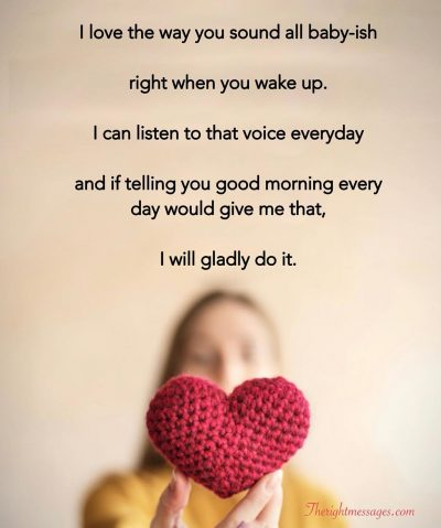 Sweet Good Morning Text Messages For Him | The Right Messages