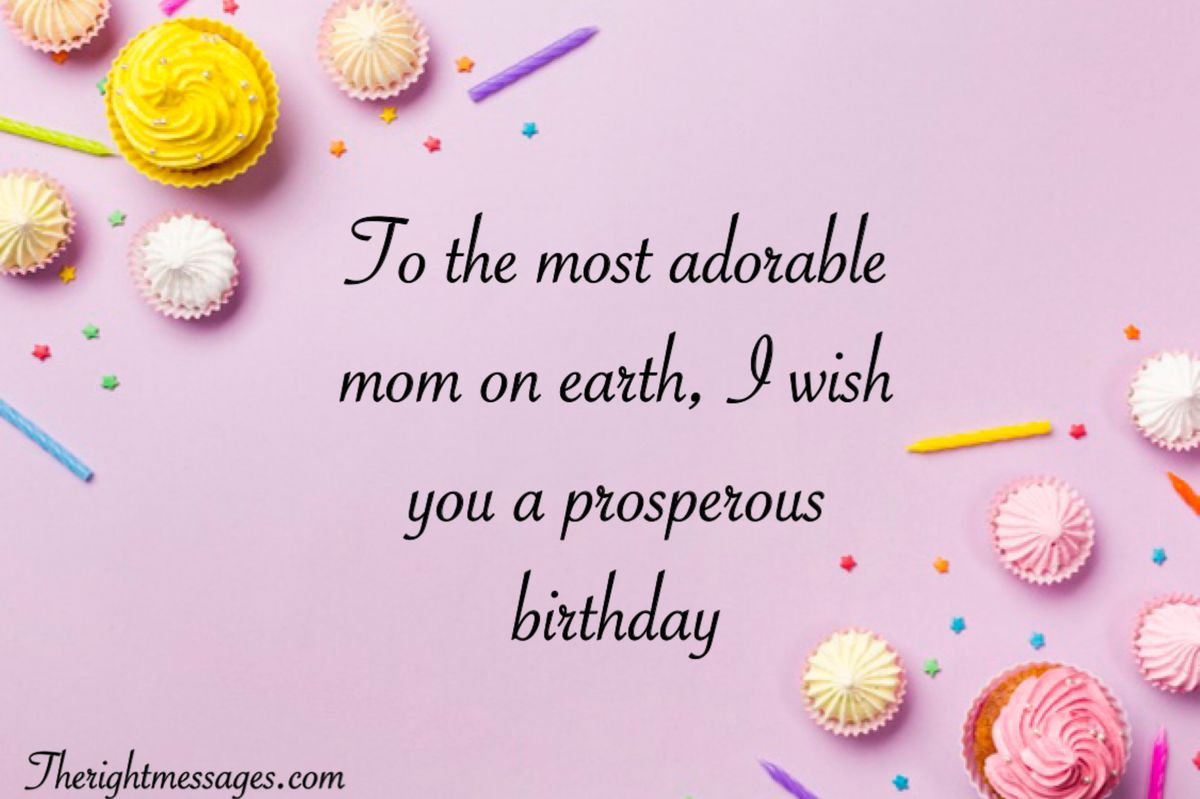 Marvelous Short And Long Happy Birthday Wishes For Mom The Right Messages Personalised Birthday Cards Paralily Jamesorg